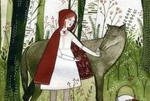 """Red Riding Hood / """"The wolf lives right here. In this village"""". He looked at the villagers. """"Among you. It is one of you."""" ~ Sarah Blakley / by ~ Katie C. ~"""