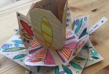Crafts / Just a card I made #laart #thankyoucard #craftsmanship #localart #thinkingofyou