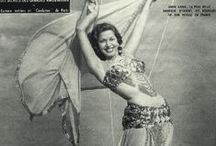 Belly Dance: Vintage Imagery / I love the history of dance!  Here's a collection of inspiring images of dancers, mostly belly dancers, from the late 19th through the mid 20th century.  If you're a fan of belly dance, especially belly dance costuming, then check out my website - www.davina.us