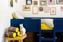 HOME   NURSERIES & KIDS' ROOMS / Modern and vintage inspired baby nurseries and adventurous kids rooms. / by Maria ♢ One Tiny Leap