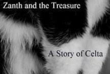 Zanth Claims the Treasure / In Celta Cats, A short, short story set on the planet Celta, featuring Zanth, the telepathic cat with attitude, his finding of a treasure and how he triumphs to keep it.