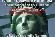 Save Yosemite Names / If a corporation is allowed to steal the historic names from Yosemite landmarks what will they do next?