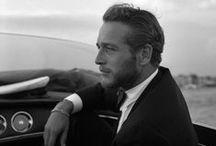 Homme / I prefer my men in black and white...