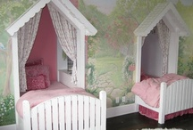 childrens  rooms ideas  / by Lori Hiles
