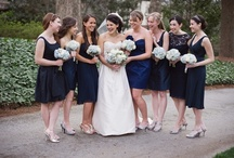 Bridesmaid's Choice / Some examples of how you might let your bridesmaids choose their own dresses.