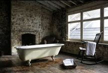 Interiors: Bathroom / A room for ablutions: a place to purify, soak and forget about daily cares.