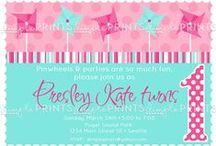 Pinwheel Party Pink & Aqua