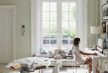 Interiors: Study / Ideas for the study or a home workspace!