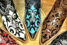 Sassy Cowgirl Boots / Old and retro...new and shiny