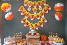 Candy Corn Birthday Party / by DimplePrints- Carli