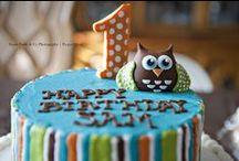 Fall Owl Pumpkin Boy Birthday Party