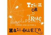 Halloween Invites / Invites, perfect for a Halloween party or birthday party! / by DimplePrints- Carli