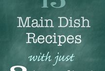 quick and easy dinner recipes / Recipes for when you don't know what to make for dinner #dinner #supper #mealplanning #healthydinner