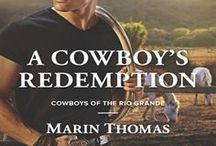 Cowboys Of The Rio Grande Series / Harlequin American Romance  First book, A Cowboy's Redemption (June 2015)