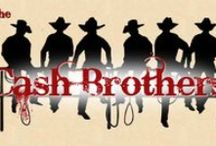 The Cash Brothers Series / Six brothers all named after country-western legends by their eccentric mother, whose lifelong search for a soulmate resulted in each of her sons  being fathered by a different man. Look for the following heroes in the books... Johnny Cash, Conway Twitty Cash, Willie Nelson Cash,  Buck Owens Cash, Merle Haggard Cash and Porter Wagoner Cash.  www.marinthomas.com