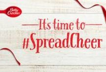 #SpreadCheer this Season / This is a board created, inspired by Betty Crocker's Spread Cheer campaign, to show ideas on how you can be the light this holiday season and share your gifts, goodies, and holiday spirit with others!