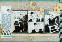 Basic Grey POTM / Double layouts created by Basic Grey designers for their Page of the Month Club Kits. / by allaboutscrapbooks