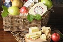 Fruit and Cheese Gifts / Take a look at some of our gourmet fruit and cheese combos.  / by The Fruit Company