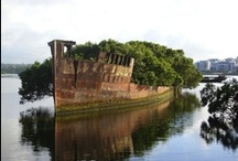 Photography of Ghost Ships - Forgotten Shipwrecks