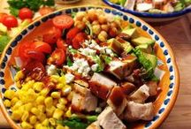 Hearty Salads / by Ellie Hickey