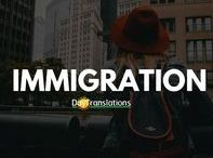 Immigration / With our USCIS approved immigration services, we will professionally translate and certify your legal documents. We can even provide interpretation assistance during immigration interviews