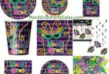 Mardi Gras Party / Items to purchase for a Mardi Gras Party!