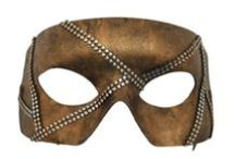 Prom Masks Men / Masquerade Masks that are popular with men.