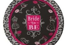 Bachelorette Party Tableware ideas / Bachelorette Party Themes available at MardiGrasPartySales.com!