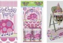 First Birthday Party Themes! / First Birthday Party Theme Tableware available at MardiGrasPartySales.com