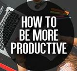 How To Be More Productive / Want To Know How To Be More Productive? Download our FREE guide to learn hot at http://TheProductivityPlan.com