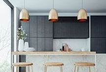 kitchen + living / by Eunice Do