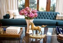 "Secrets from a Stylist / I love Emily Henderson from HGTV's Secrets from a Stylist. I want her Eclectic ""Boho-Chic"" look so here are photos from her redos and website. / by Bonnie Browne"