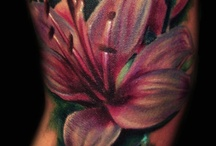 frogs and lilies and tattoos, OH MY! / by Mary Sandner