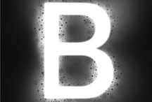 Just B / Yep, my name starts with 'B'. This is more an homage to typography through the letter 'B'.  / by Brooke Taylor