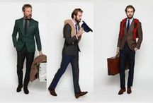 This is a men's world! / Fashionable and stylish male outfits and details.