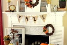 fall decorating / by Jen Gunson