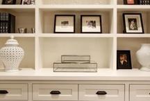 Built in cabinets ~ Tv & storgae / by Sheila Mycroft-Roarks