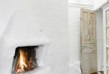Ideas for fireplace / Interesting ideas for arranging and building a fireplace at home.