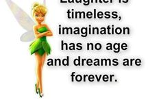Tinkerbell / Faith, trust, and pixie dust. I BELIEVE !   / by Kathy Main