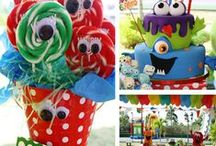 Jackson's Birthday Party Ideas/Monster Bash/Train Party / Great Ideas to Throw the Greatest Monster or Train Themed Party!
