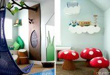 Jackson's Big Boy Room / Woodland Forest Friend Themed Inspiration For Jackson's Big Boy Bedroom