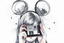 Ilustrações pra aquecer o ❤️ / Ilustração pra aquecer o coração e alegrar o seu dia
