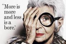 Fashion and beauty quotes / Frases inspiradoras de grandes nomes da moda