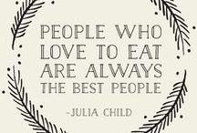 It's all about food / Inspirações pra quem ama um boa comida.