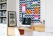 Home Offices Inspiradores / Um ambiente caseiro de trabalho precisa ser inspirador. Espero que essas fotos te ajudem a montar o seu.