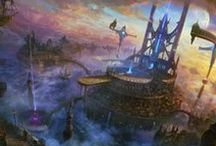 Fantasy Landscapes / Builduings / Cities / Some (how I find) very cool examples of wide landscapes, breathtaking buildings and epic cities which I stumbled upon on my journeys through the vastnesses of the internet and find worthy to collect on this pinboard. :D