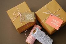 Gifting / gifts for all kinds of occasions and people / by Heather Nic