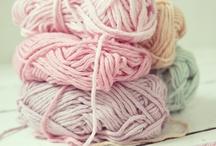 Yarn,wool,cotton / by Maria G