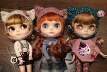 Blythe, Petit Blythe and LPS Blythe / and middie Blythe / by Maria G