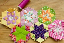 Patchwork, paper piecing, quilt....etc. / by Nora